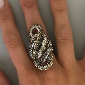 Judith Jack Jewelry - Judith Jack multi colored crystal stretch ring